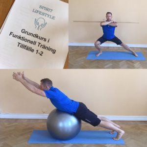 En Swissboll ger ostabilt underlag för funktionell träning